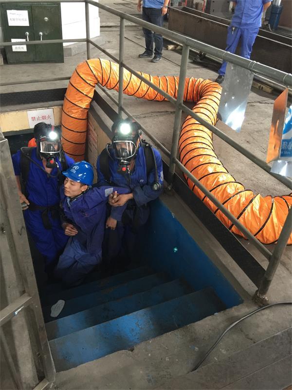 mg4355娱乐城功能开展有限空间应急救援演练活动