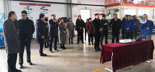 科技部、市科委、顺义区、中国钢研领导调研安泰科技稀土新材料产业