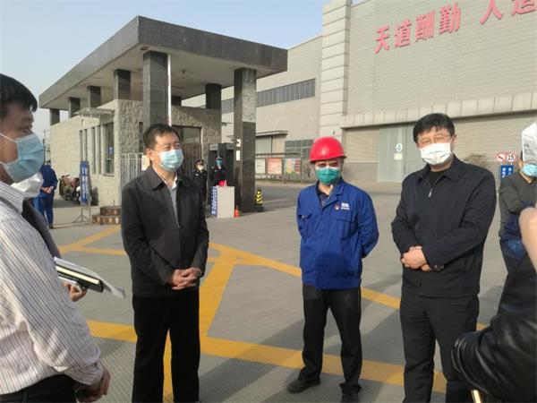石家庄市委常委、宣传部部长王韶华到河冶科技调研