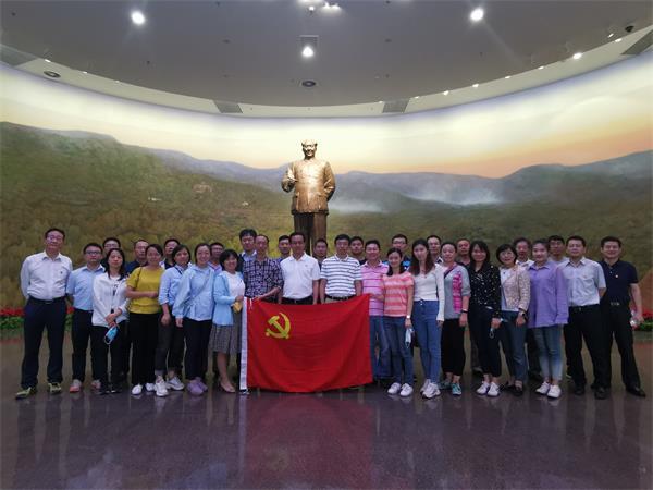 人间正道是沧桑,不忘初心得始终—管理部门组织参观香山革命纪念馆红色主题党日活动